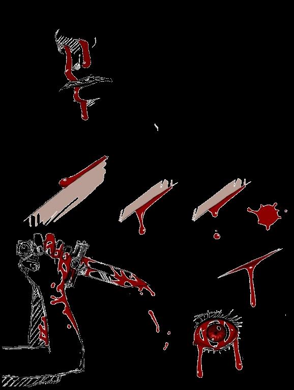 Как рисовать кровь в саи