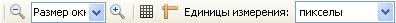 Кнопки элементов меню Вид Paint.NET