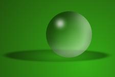 Як намалювати прозорий скляний кулю в Paint.NET - уроки малювання в Paint.Net