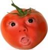 Фрукт или овощ с человеческим лицом в paint.net