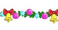 Новогодние колокольчики - пиксель-арт в paint.net