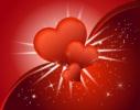Красная валентинка