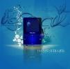 Постер Blue BLUES в paint.net