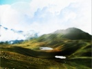 Гора Mountain (коррекция пейзажа) в paint.net