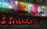 Яркое граффити на стене рaint.net
