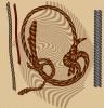 Как нарисовать веревку или шнурок