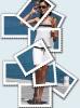 Фотография из почтовых марок
