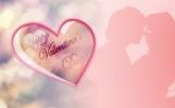 Розовая Валентинка