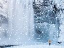 Как добавить снег на фотографию