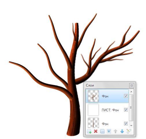 Как нарисовать деревья