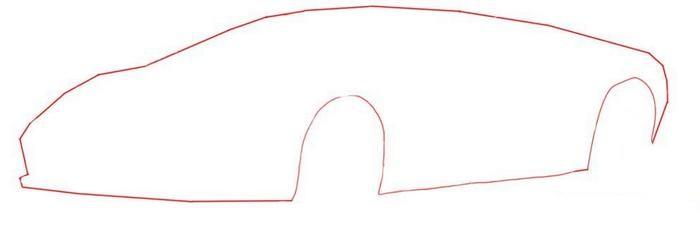 картинки для рисования ламборджини